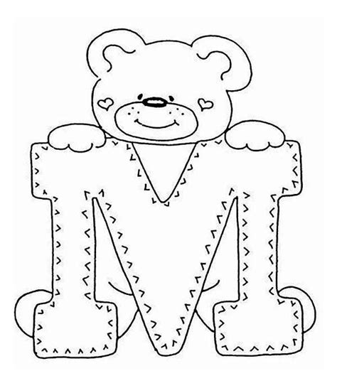 cute letter coloring pages introducing letter m coloring page best place to color