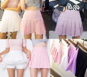Annbaby 8 H Skirt Rok Korea students sweet pleated skirt 183 fashion kawaii japan korea 183 store powered by storenvy