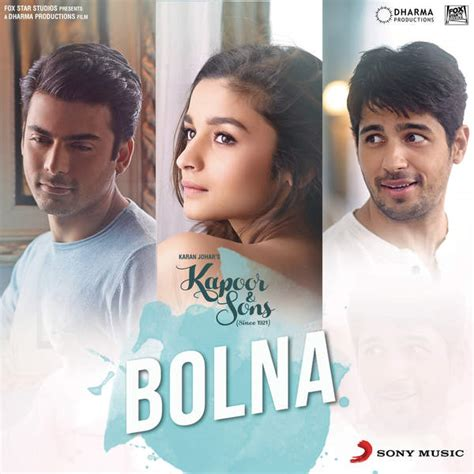 download mp3 from kapoor and sons download latest bollywood mp3 songs and music bolna mp3