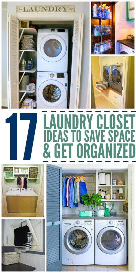 room hacks 15 laundry closet ideas to save space and get organized