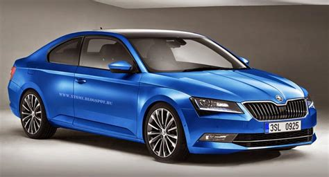 skoda coupe new skoda superb works just as a coupe