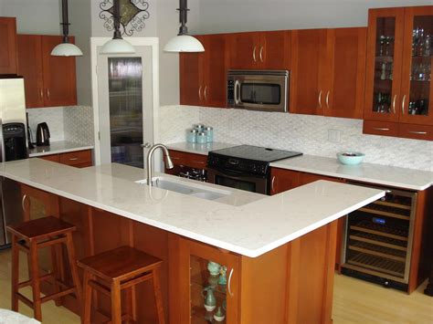 quartz kitchen countertops five inc countertops kitchen design diy so that it s easier for you to clean