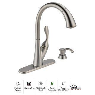delta faucet leaking under sink delta ashton 19922 sssd dst manual delta 19922 sssd dst brilliance stainless ashton pullout