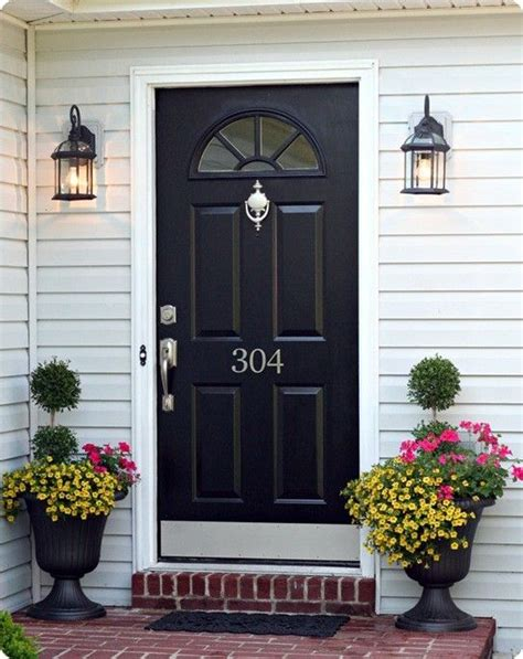 Exterior Door Numbers The House Numbers Front Doors