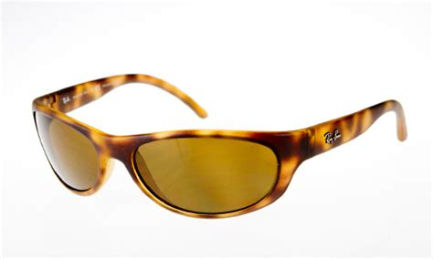 Rb4214 Brown Polarized Plastik Lens ban sunglasses