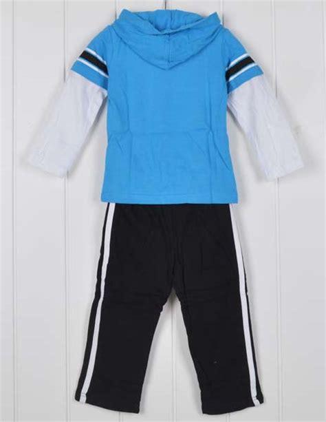 Setelan Piyama Anak Laki Laki Kid jual setelan anak laki laki jumping biru baseball lengan panjang 18bulan 2 3 4 5tahun
