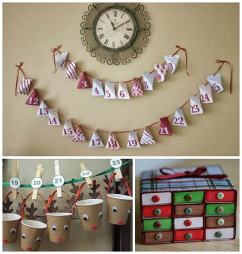 Calendar Do It Yourself Creative Do It Yourself Advent Calendars With