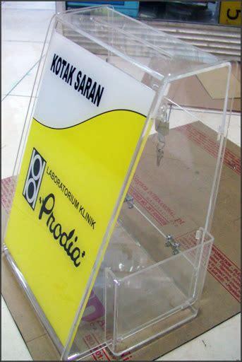 Kotak Saran Acrylik kotak saran acrylic supplier acrylic jakarta