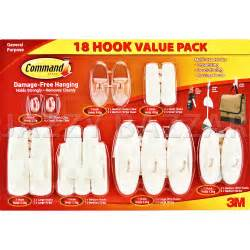 removable wall adhesive 3m command hooks 18 utility adhesive removable plastic