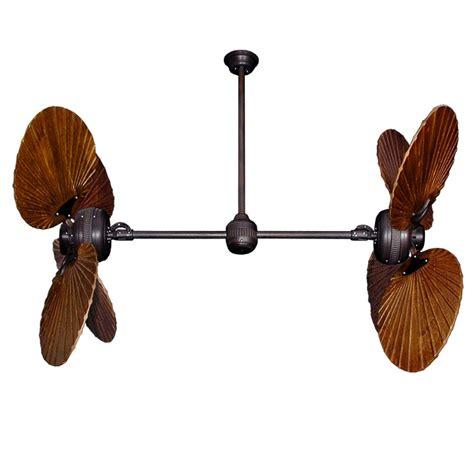 dual motor ceiling fan with light twin star ii dual motor ceiling fan with solid wood carved