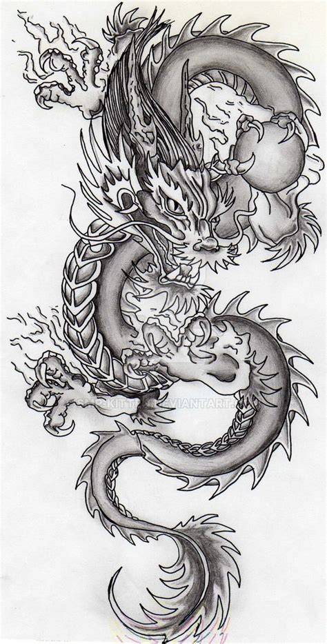 tattoo naga china dragon by smp kitten dragons pinterest dragons