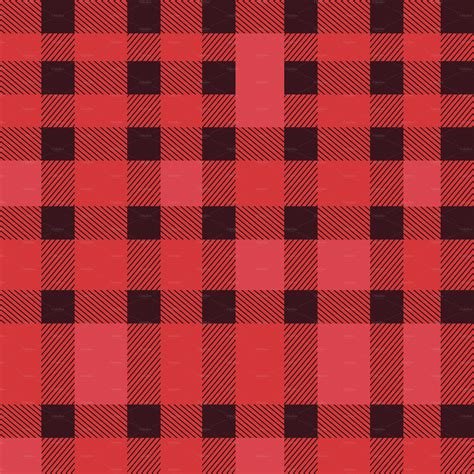 plaid design 5 seamless plaid pattern in eps patterns on creative market