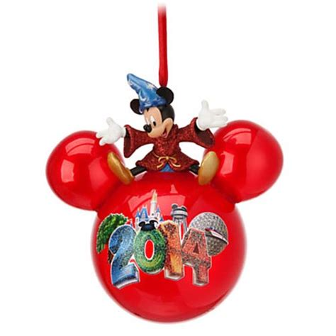 your wdw store disney christmas ornament 2014 sorcerer