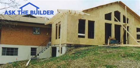 Small Home Addition Diy A Diy Room Addition In 7 Weeks Ask The Builder