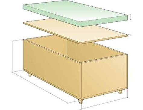 How To Build An Ottoman With Storage The Kersten Haus Diy Ottoman