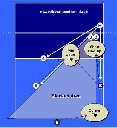 setter defensive position rotational defense volleyball diagram quotes