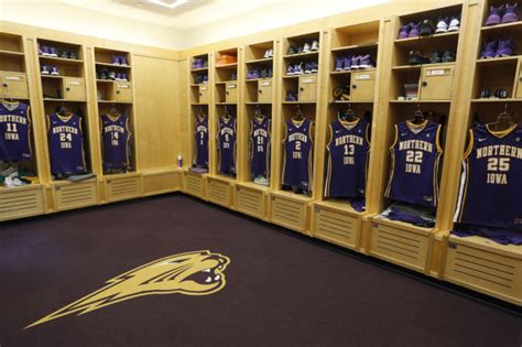 uni locker room photos uni locker room upgrade s basketball wcfcourier