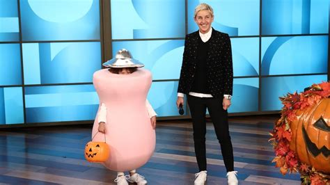 ellen presents  minute halloween costumes youtube