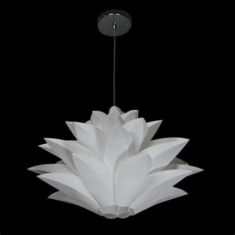 Lotus Pendant Light White Diy Lotus Chandelier Pendant Light L Livingroom Ceiling Lshade Decor Ebay