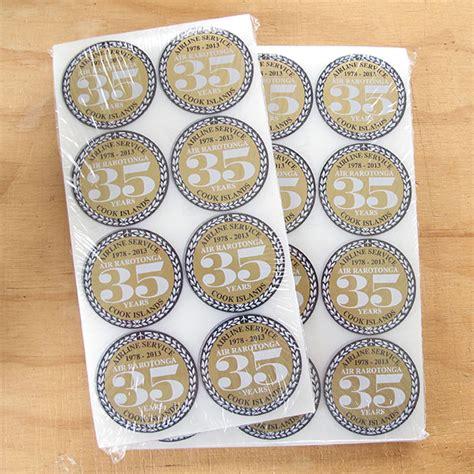 Stiker Vinyl Print And Cut Custom Tahan Air Ukuran 7 X 7 Cm custom sticker sheets custom sticker printers auckland new zealand
