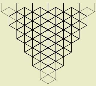 inverted triangle pattern in c 17 best images about isometric drawing on pinterest