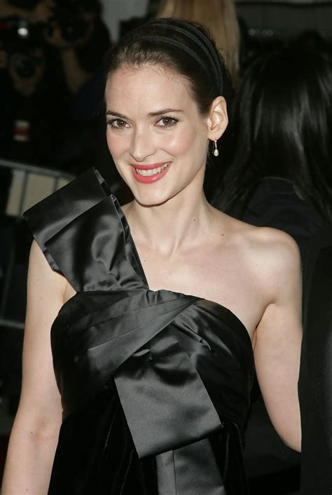 Winona Is Back And So Is Cleavage by Winona Photos Photos Met Costume Institute Benefit