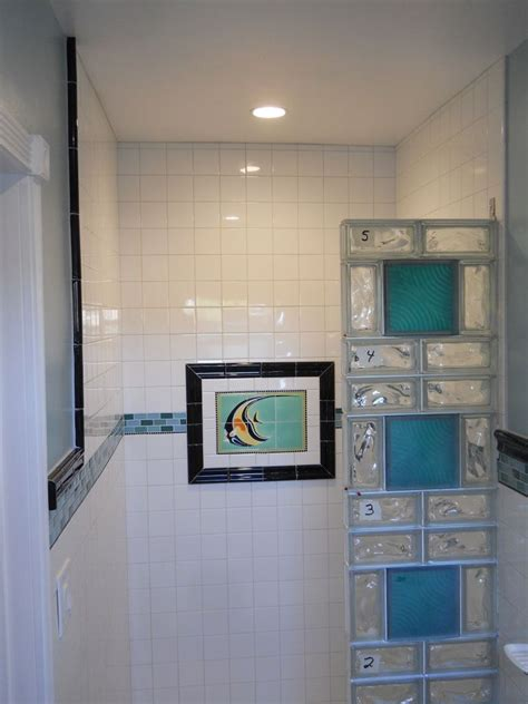glass block showers small bathrooms project spotlight transforming a 75 year old small