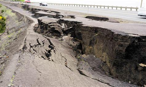 earthquake in california earthquake warning california braced for big one as seven