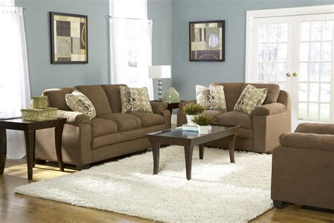 blue and brown walls blue living room walls with brown furniture best family