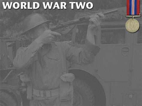 World War 2 Powerpoint Template 1 Adobe Education Exchange World War 2 Powerpoint Template