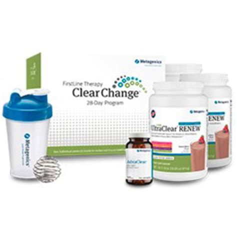 Metagenics 10 Day Detox Food List by Metagenics Clear Change 28 Day Detox Program With