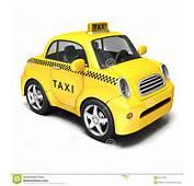 Yellow Cartoon Taxi Royalty Free Stock Photo  Image 38707325