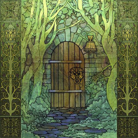 The Secret Door the secret door by yanadhyana on deviantart