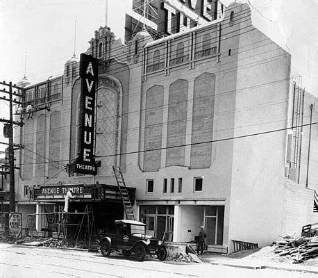 avenue theater foundsf