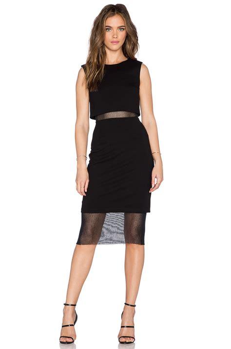 Bailey Dress lyst bailey 44 dress in black