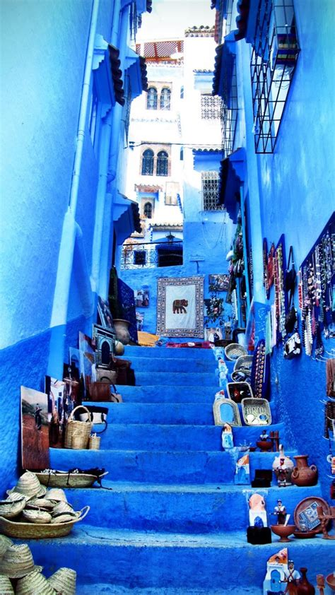 blue city morocco chair chefchaouen morocco renee travels