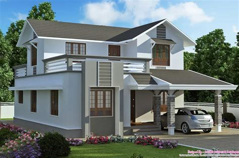 two storey house plan kerala style simple two story house kerala style house plans keralahouseplanner home