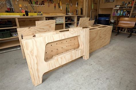 plywood work bench how to build plywood workbench plans pdf plans