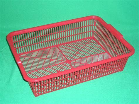 Keranjang Persegi Plastik Serbaguna 12pcs keranjang plastik persegi