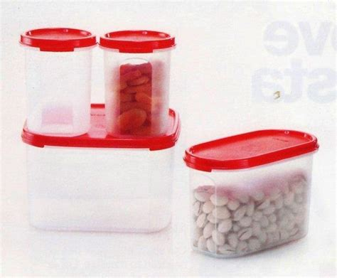Tupperware Modular Set tupperware modular mates oval home starter set 4pc savers express 2 5day