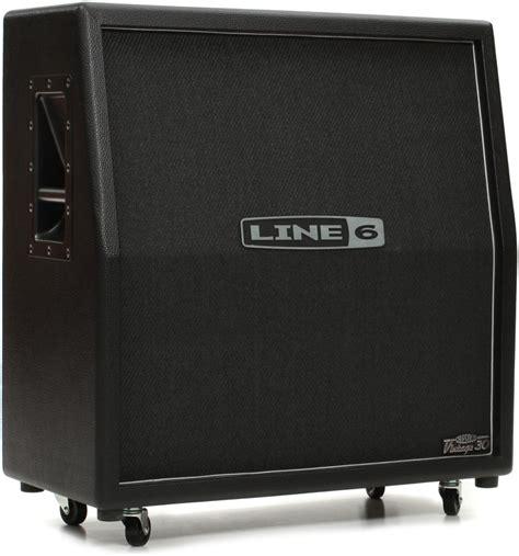 Line 6 Cabinet 4x12 by Line 6 412vs 120 Watt 4x12 Quot Slant Extension Cabinet