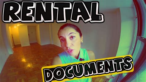 Documents Needed To Rent An Apartment