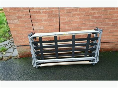 Fold Away Bed Frame Fold Away Rock And Roll Type Bed Frame With Mattress Dudley Sandwell
