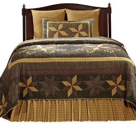 Quilt King by Amherst 3 King Size Quilt Ensemble Farmhouse
