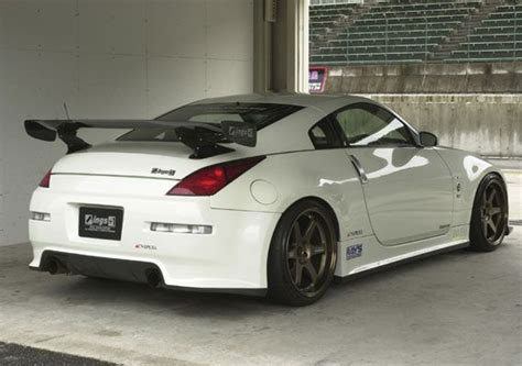nissan fairlady 370z body kit ings n spec full body kit for nissan 350z z33 rear 車