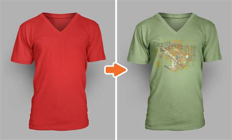 v neck shirt template psd v neck tishirt template psd