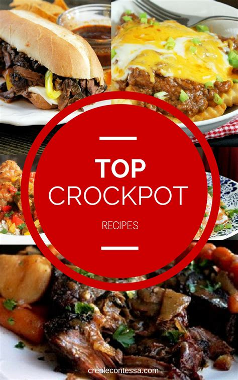 top crock pot recipes creole contessa
