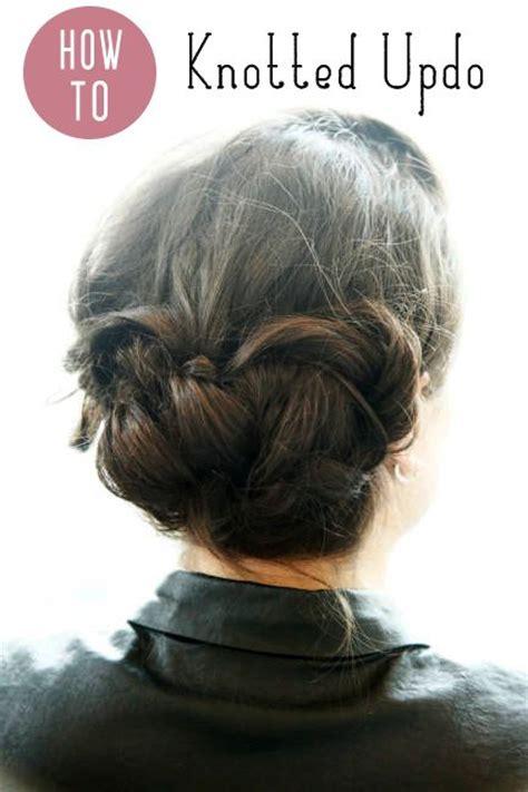 diy updo hairstyles pinterest diy updos steps for 3 simple updos updo penteados