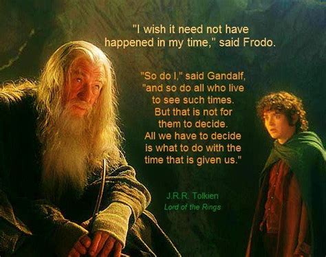best favorite lord of the rings quotes or lord of the rings quote from gandalf