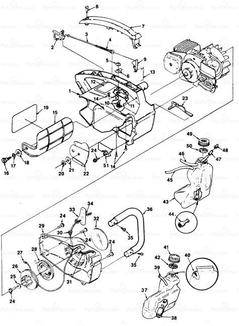 homelite 2 parts diagram homelite ut 10654 homelite 2 chainsaw housing